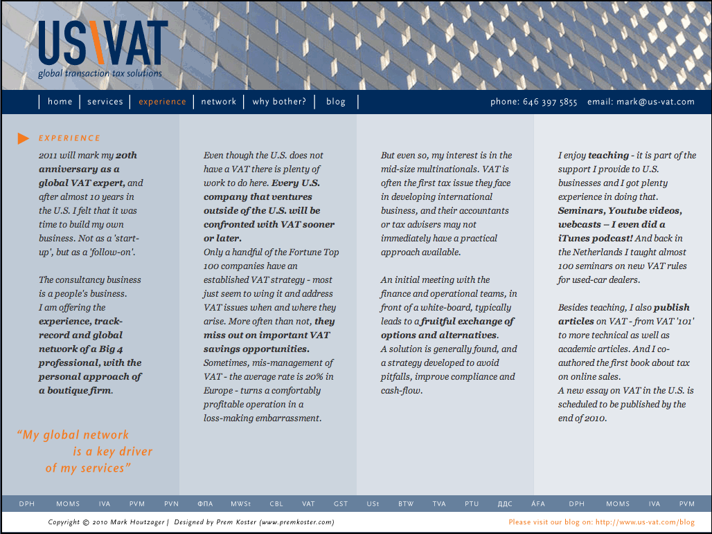 US VAT Inc
