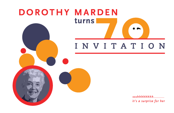 Dorothy Marden 70